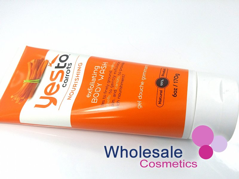 12 X Yes To Carrots Nourishing Exfoliating Body Wash 170g