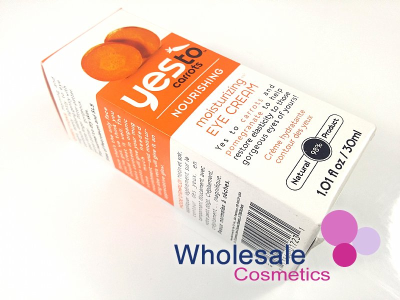 12 x Yes To Carrots Nourishing Moisturising Eye Cream 30ml
