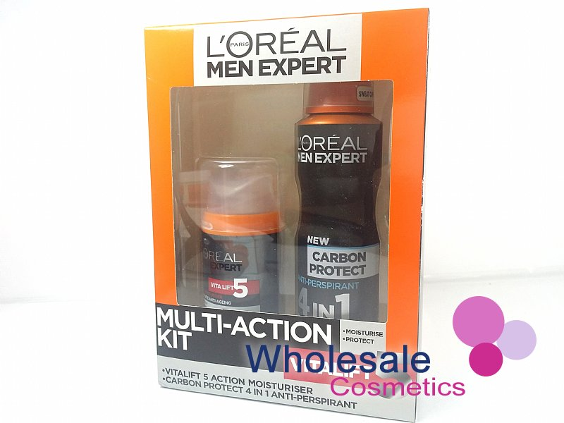 6 x L'Oreal Men Expert Vitalift 5 Multi-Action Kit