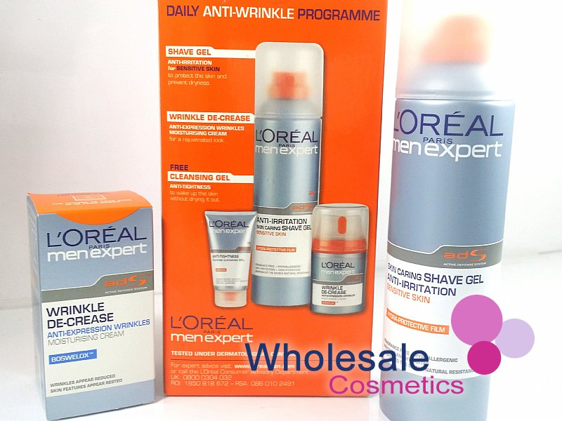 6 x L'Oreal Men Expert Daily Anti-Wrinkle Skin Care Programme