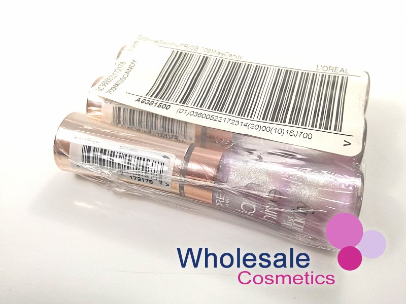 24 x L'Oreal Glam Shine Miss Candy Lipgloss - 709 Miss Candy
