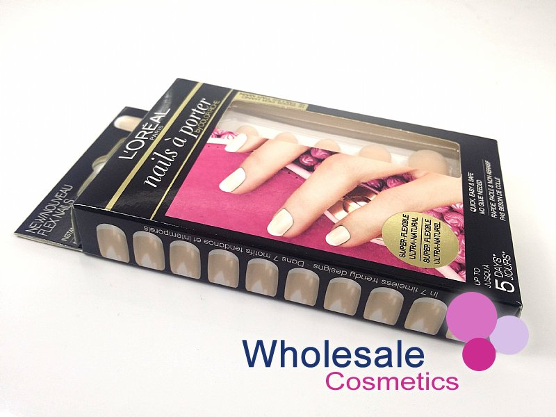 27 x L'Oreal Nails A Porter False Nails - 001 FRENCH TOUCH