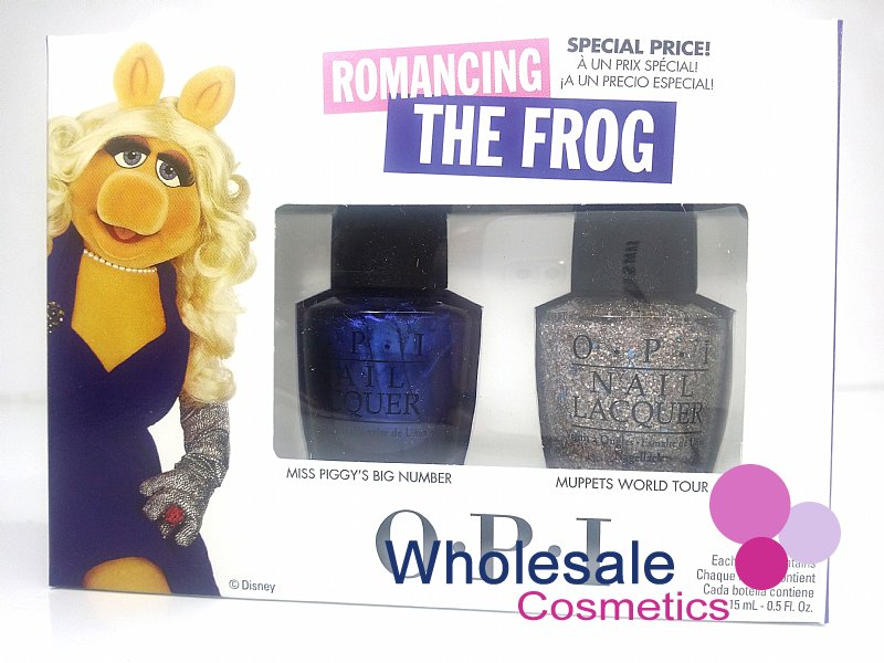 8 x Disney Muppets Most Wanted O.P.I. Nail Lacquer Duo Set