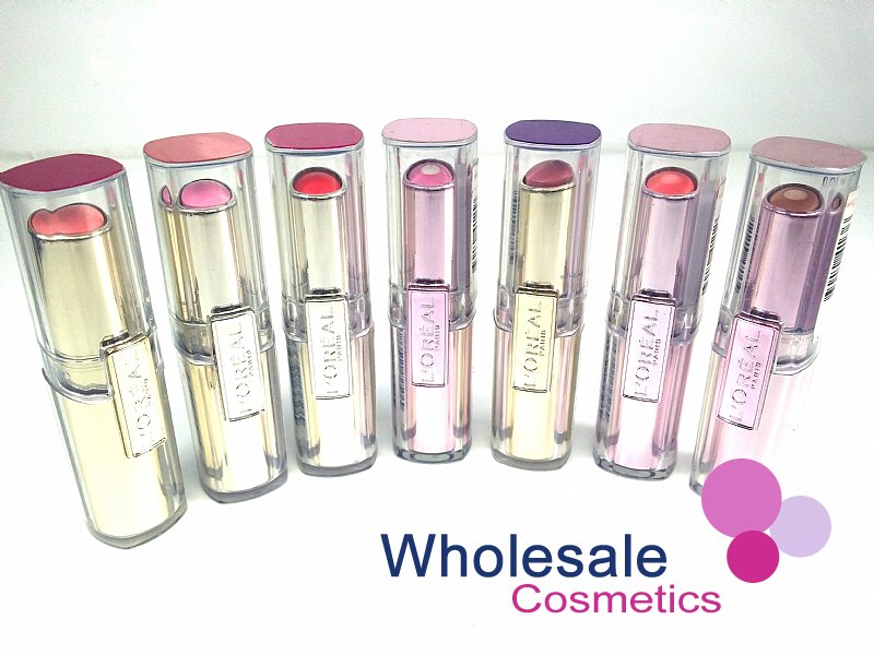 24 x L'Oreal Rouge Caresse Lipsticks - ASSORTED