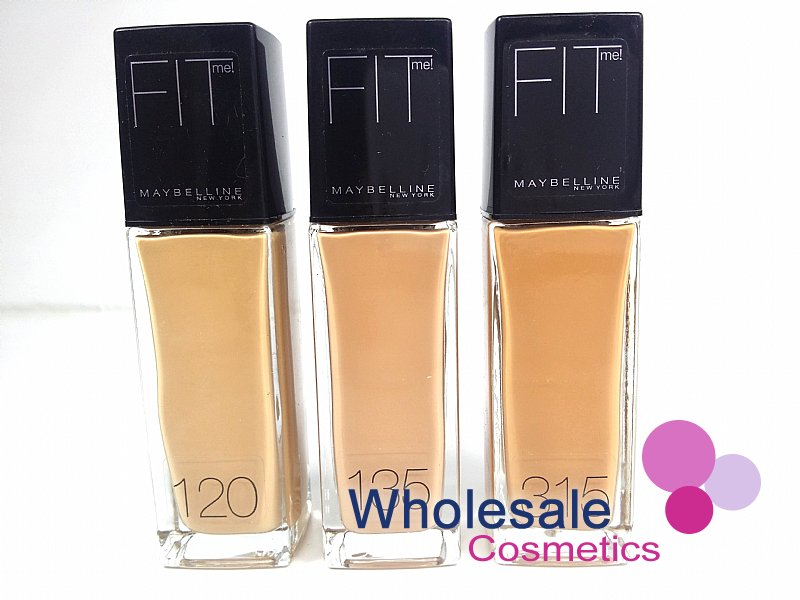 12 x Maybelline Fit Me Foundation - ASSORTED