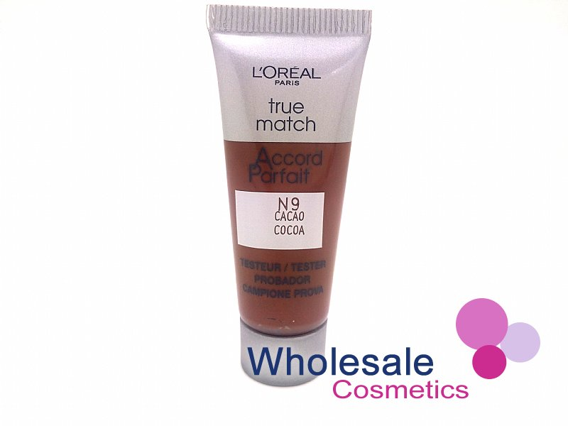 36 x L'Oreal True Match N9 Cocoa Foundation - 10ml Tester