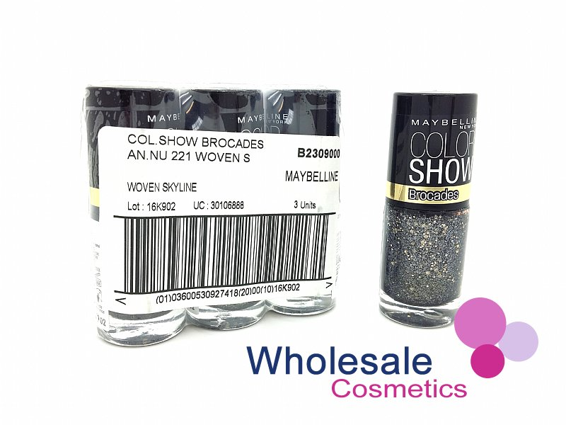 24 x Maybelline Colorshow Nail Polish - 221 WOVEN SKYLINE