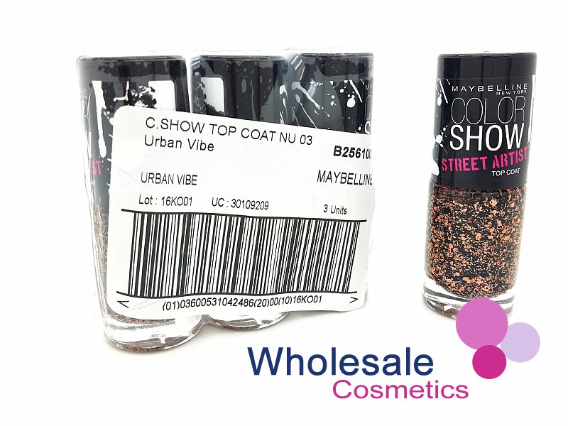 24 x Maybelline Colorshow Nail Polish - 03 URBAN VIBE