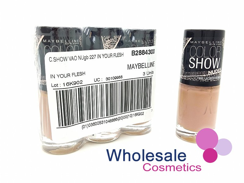24 x Maybelline Colorshow Nudes - 227 IN YOUR FLESH