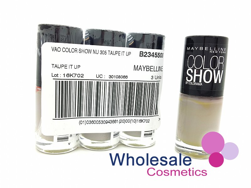 24 x Maybelline Colorshow Nail Polish - 305 TAUPE IT UP
