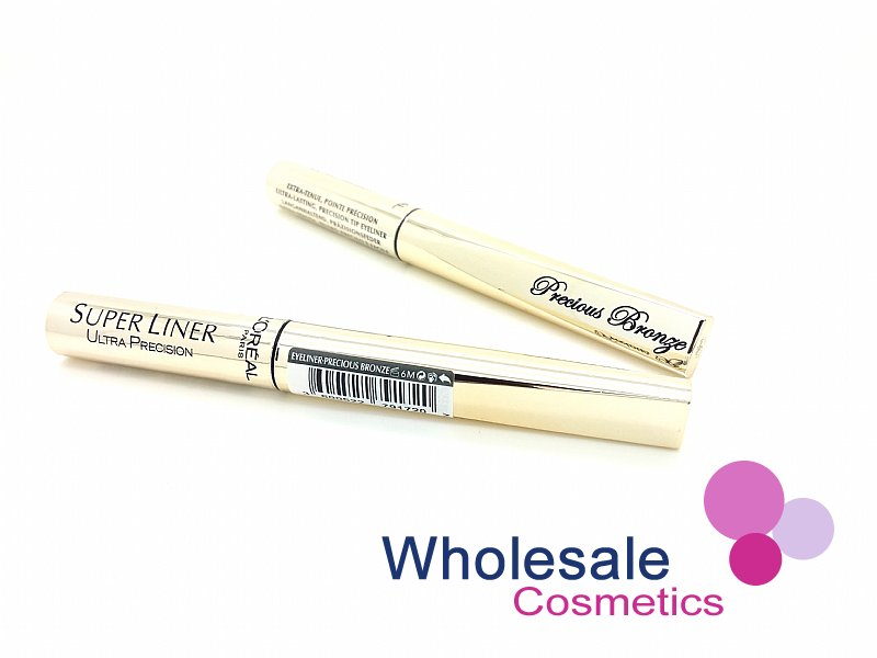12 x L'Oreal SuperLiner Ultra Precision Eyeliner Precious Bronze