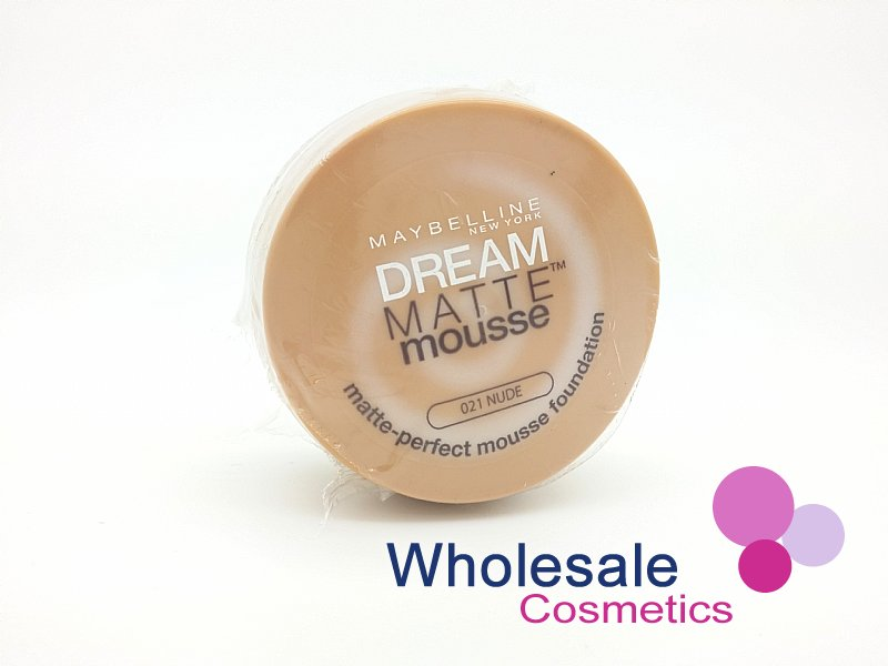 12 x Maybelline Dream Matte Mousse Foundation - 21 Nude