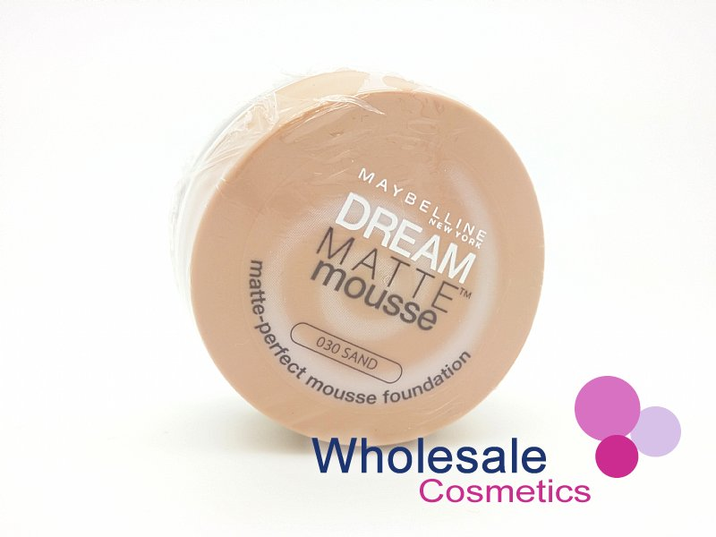 12 x Maybelline Dream Matte Mousse Foundation - 30 Sand