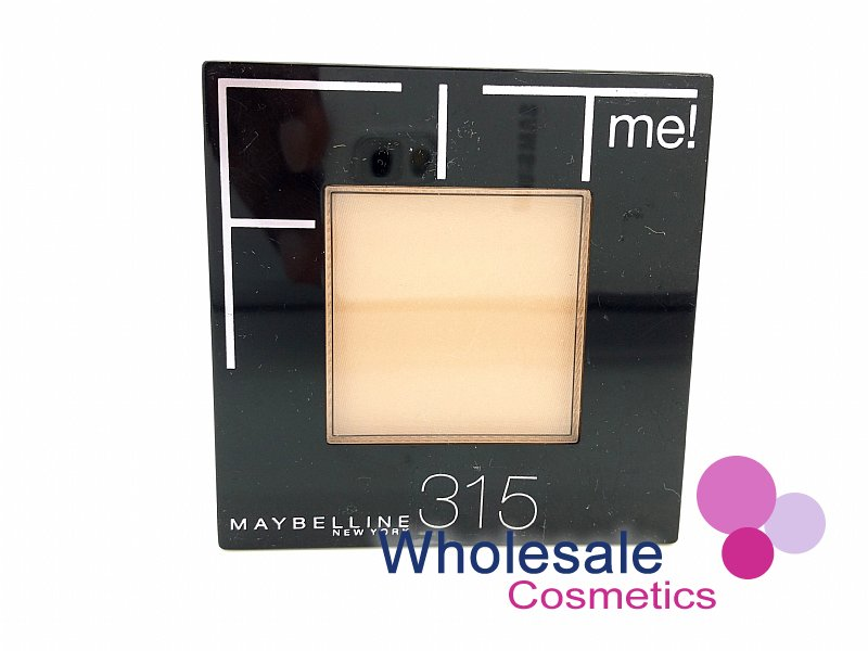 12 x Maybelline Fit Me Powder Flawless Foundation - 315 Soft Honey