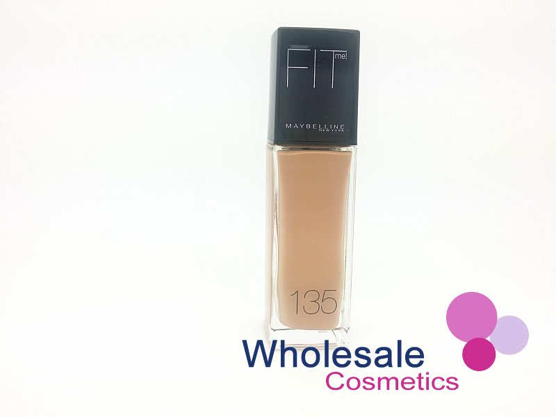 12 x Maybelline Fit Me Foundation - 135 Creamy Natural