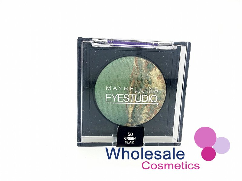 12 x Maybelline Eye Studio Duo Baked Eye Shadows - 50 GREEN GLAM
