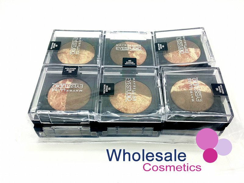 12 x Maybelline Eye Studio Duo Baked Eye Shadows - 60 BRONZE SEDUCTION