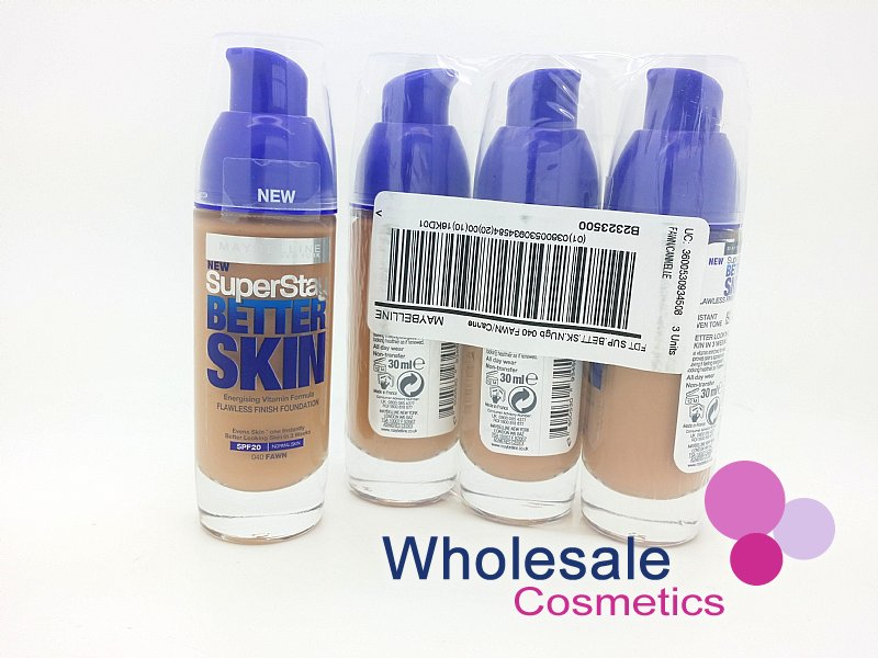 12 x Maybelline Superstay Better Skin Foundation - 40 Fawn