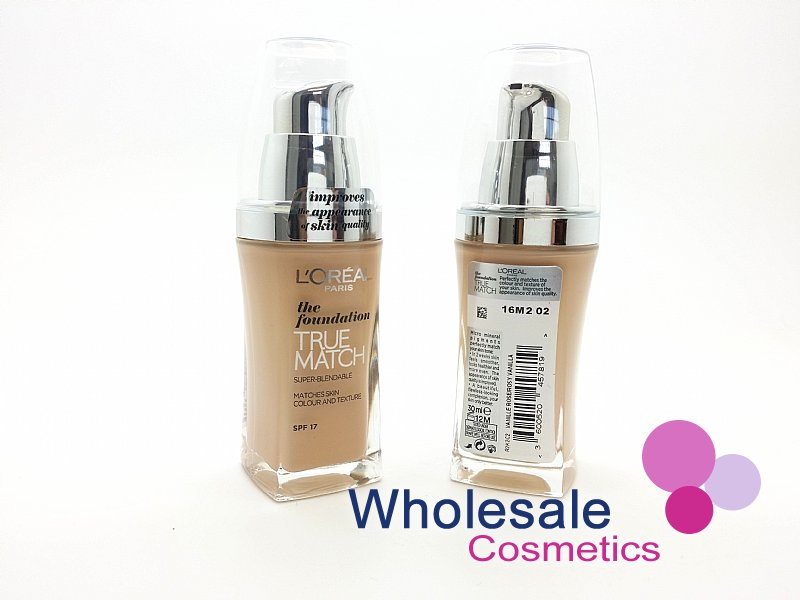 15 x L'Oreal True Match Foundation SPF17 (30 ml) - C2 Rose Vanilla