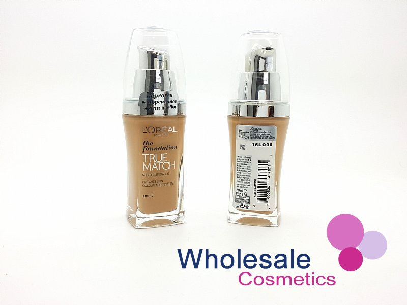 15 x L'Oreal True Match Foundation SPF17 (30 ml) - N7 Amber