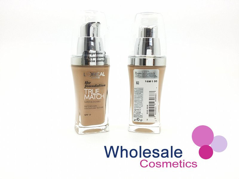 15 x L'Oreal True Match Foundation SPF17 (30 ml) - N4 Beige