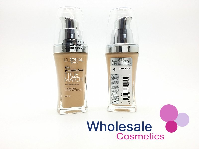 15 x L'Oreal True Match Foundation SPF17 (30 ml) - N2 Vanilla