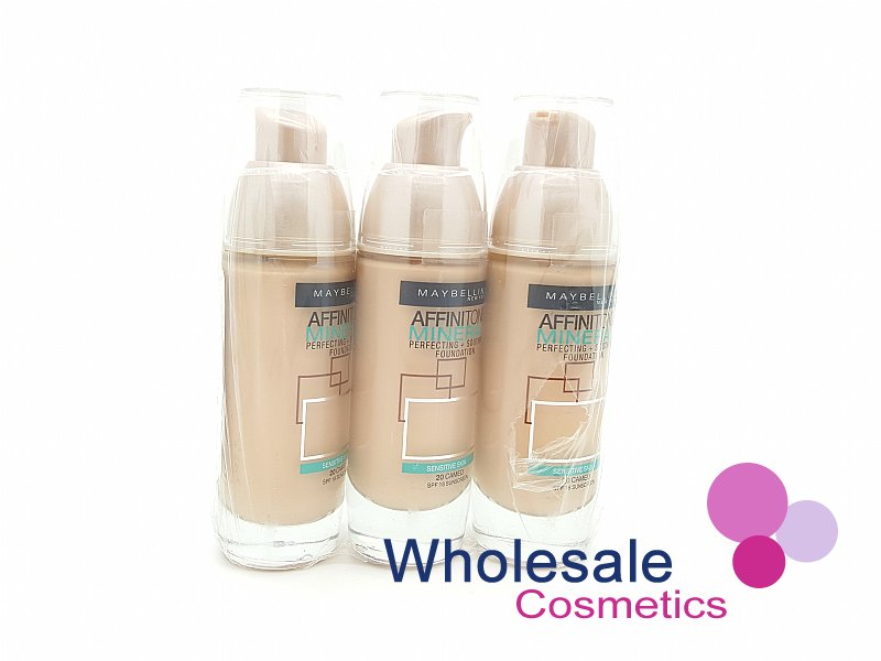 12 x Maybelline Affinitone Mineral Foundation - 20 Cameo
