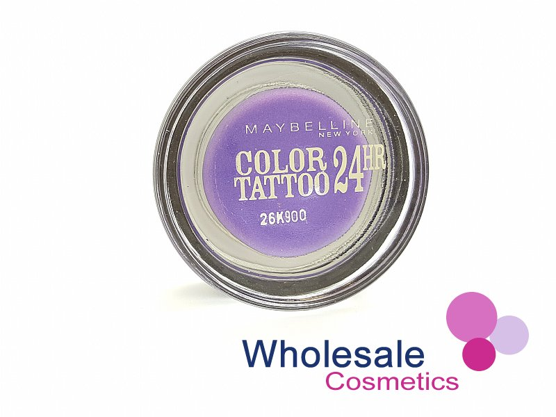 12 x Maybelline 24HR Color Tattoo Eyeshadow - 15 Endless Purple