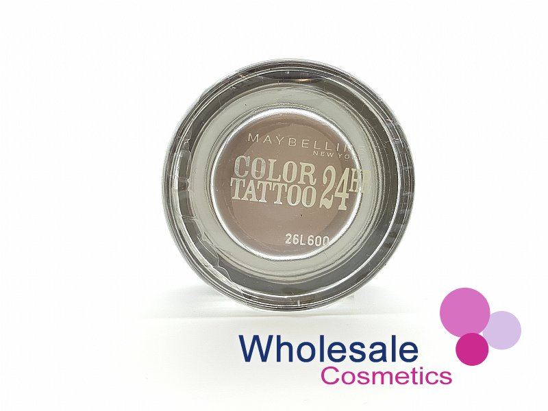 12 x Maybelline 24HR Color Tattoo Eyeshadow - 40 Permanent Taupe