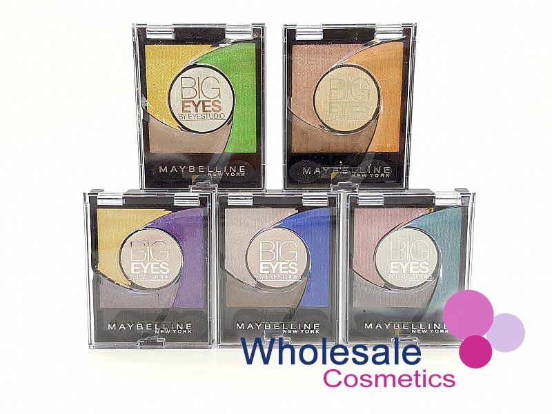 24 x Maybelline Big Eyes Eyeshadow - Assorted
