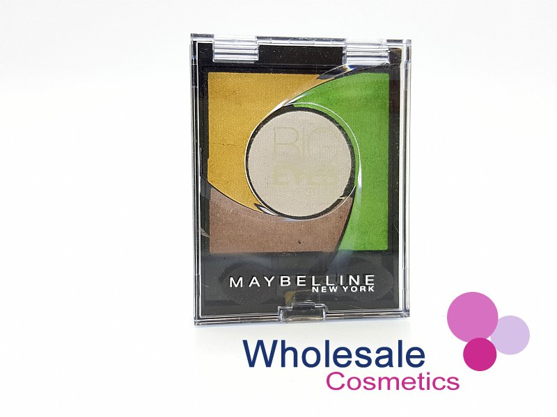 24 x Maybelline Big Eyes Eyeshadow - 02 Luminous Grass