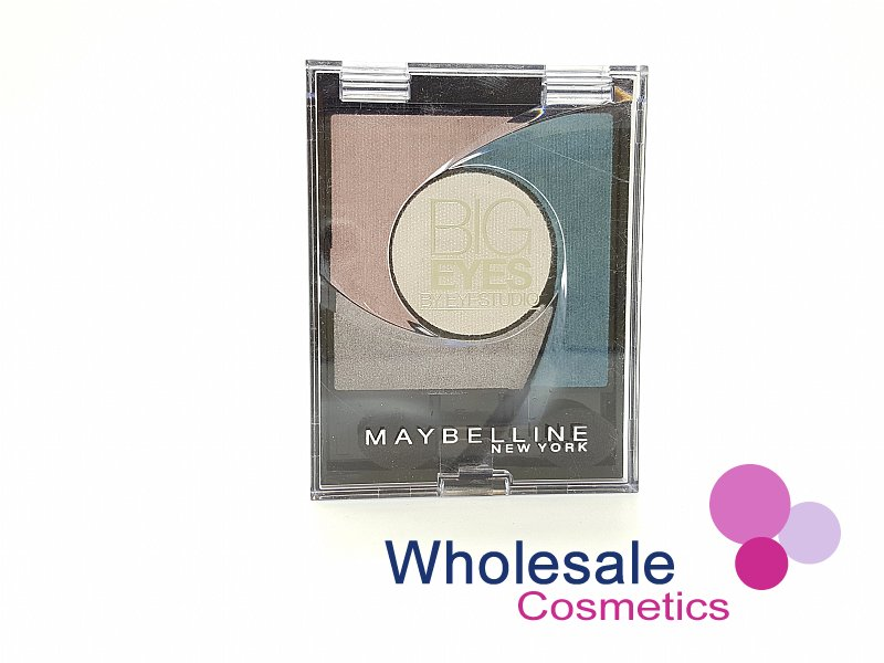 24 x Maybelline Big Eyes Eyeshadow - 03 Luminous Turquoise