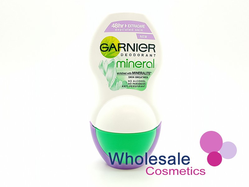 6 x Garnier Mineral Deodrant Roll On Extra Care 50ml