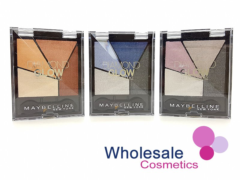 24 x Maybelline Diamond Glow Eyeshadow - Assorted