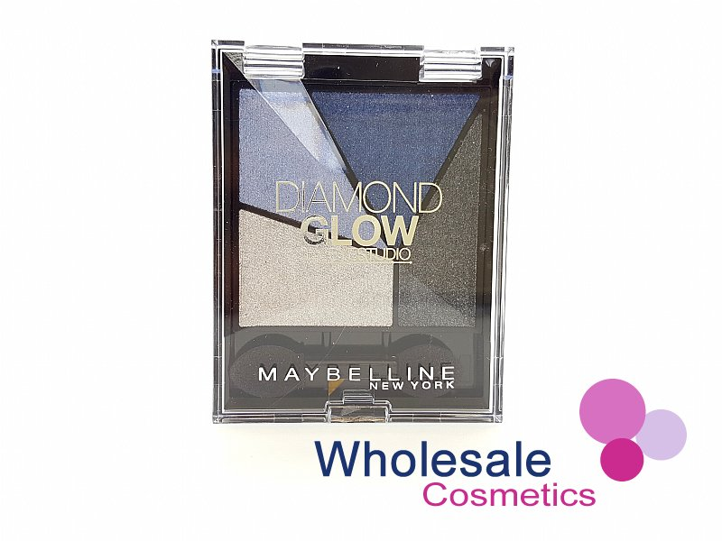 24 x Maybelline Diamond Glow Eyeshadow - 03 Blue Drama