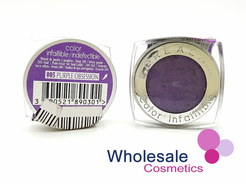 24 x L'Oreal Color Infallible Eyes 24Hr Powder Eyeshadow - 005 Purple Obsession
