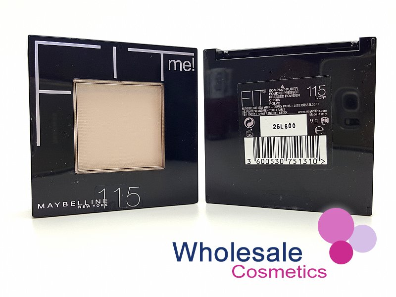 12 x Maybelline Fit Me Powder Flawless Foundation - 115 Ivory