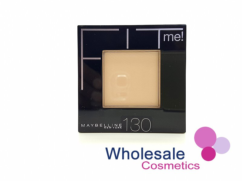 12 x Maybelline Fit Me Powder Flawless Foundation - 130 Buff Beige