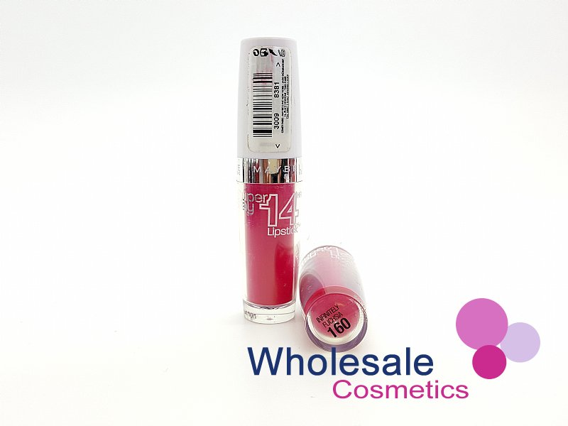 24 x Maybelline Superstay 14HR Lipstick - 160 Infinetly Fuchsia