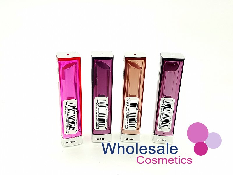 24 x Maybelline Colour Sensational (Slim Design) Lipstick - ASSORTED