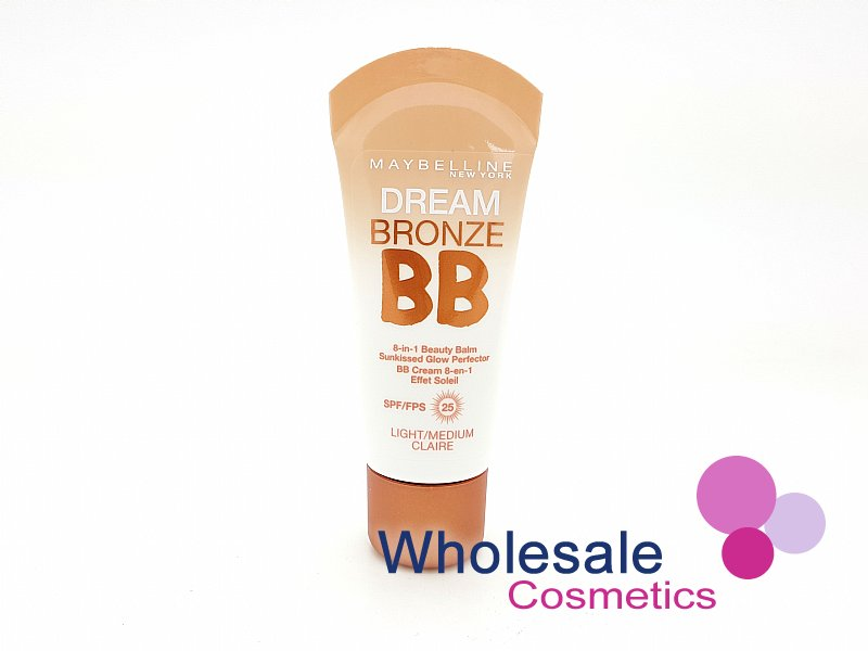 12 x Maybelline Dream Bronze BB 8in1 Beauty Balm - Light/Medium