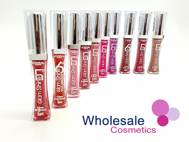 24 x L'Oreal Glam Shine Lip Gloss 6hrs Brilliance - ASSORTED