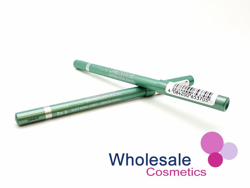 24 x Maybelline Kajal LineRefine Eye Liners - 37 Green