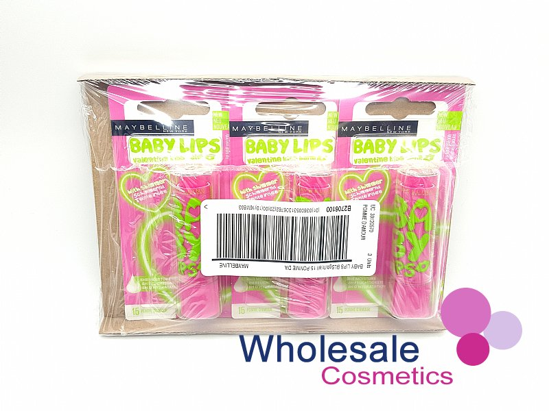 24 x Maybelline Baby Lips Lip Balm - Pomme D'Amour