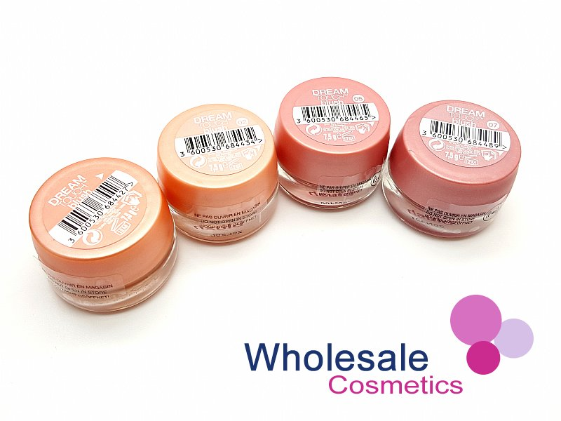 24 x Maybelline Dream Touch / Mousse Soft Blush - ASSORTED