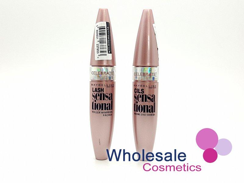 6aa0f94bd53 Wholesale Cosmetics - 12 x Maybelline Lash Sensational Lash ...