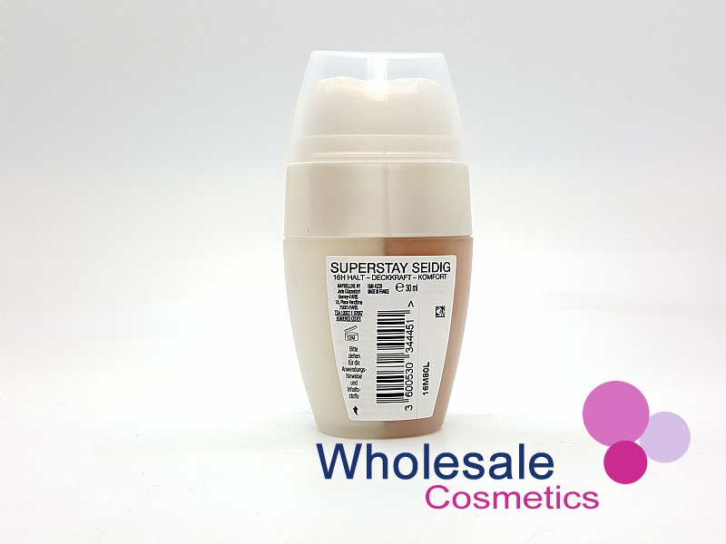 63 x Maybelline 16HR Superstay Silky Foundation - 20 Cameo FULL CASE
