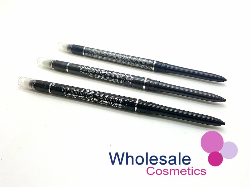 24 x L'Oreal Infallible Retractable Eyeliner - ASSORTED
