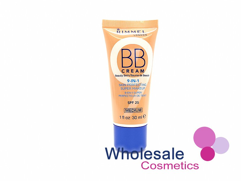 12 x Rimmel 9 In 1 Skin Perfecting BB Cream - Medium