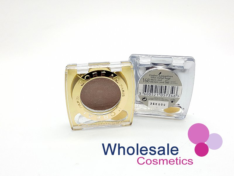 24 x L'Oreal Color Appeal Mono Eyeshadows - 168 Brown Lame